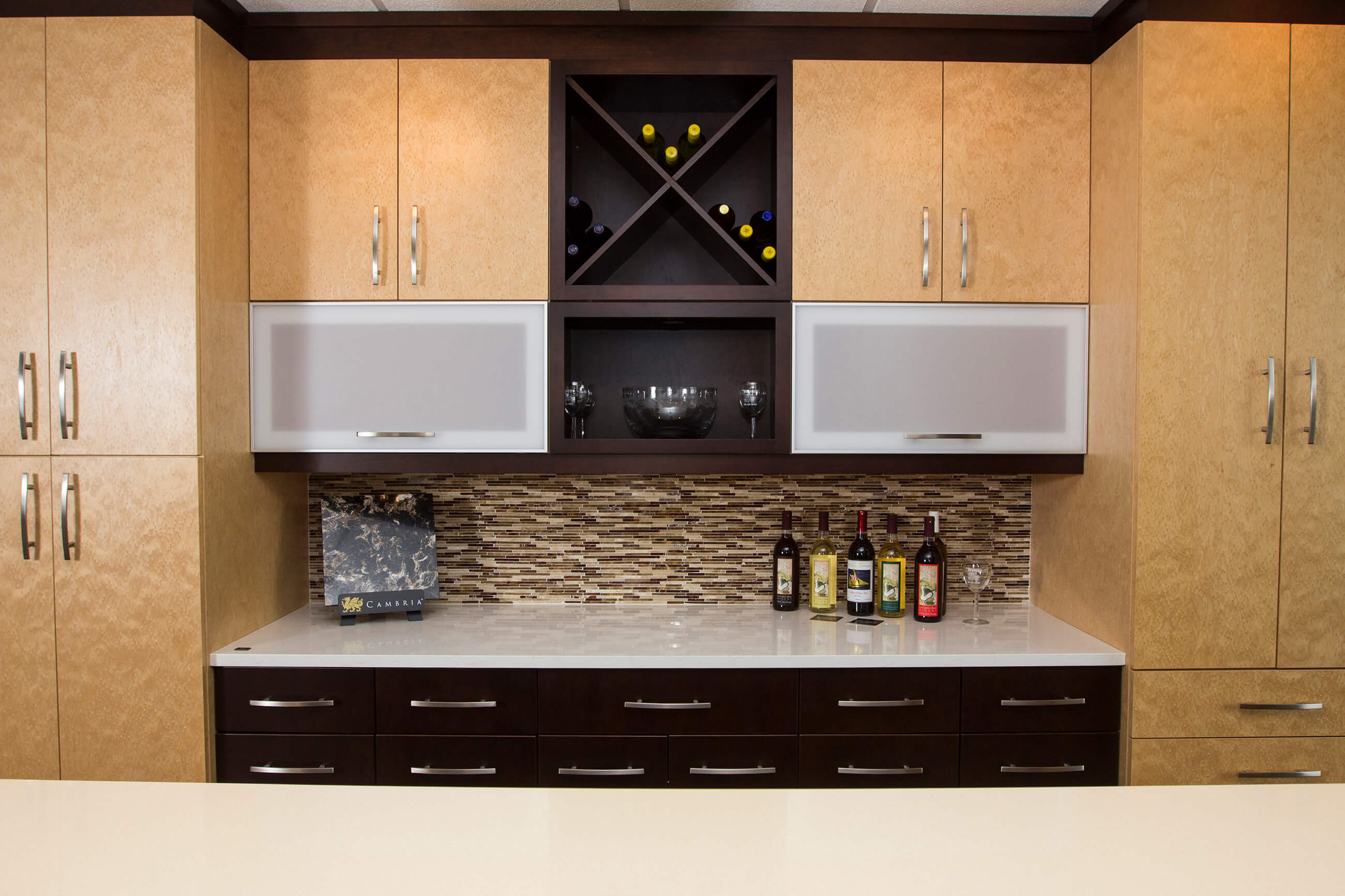 Modern Cambria Cabinetry