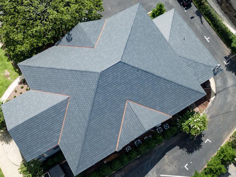 EcoStar's Majestic Niagara Slate Roofing