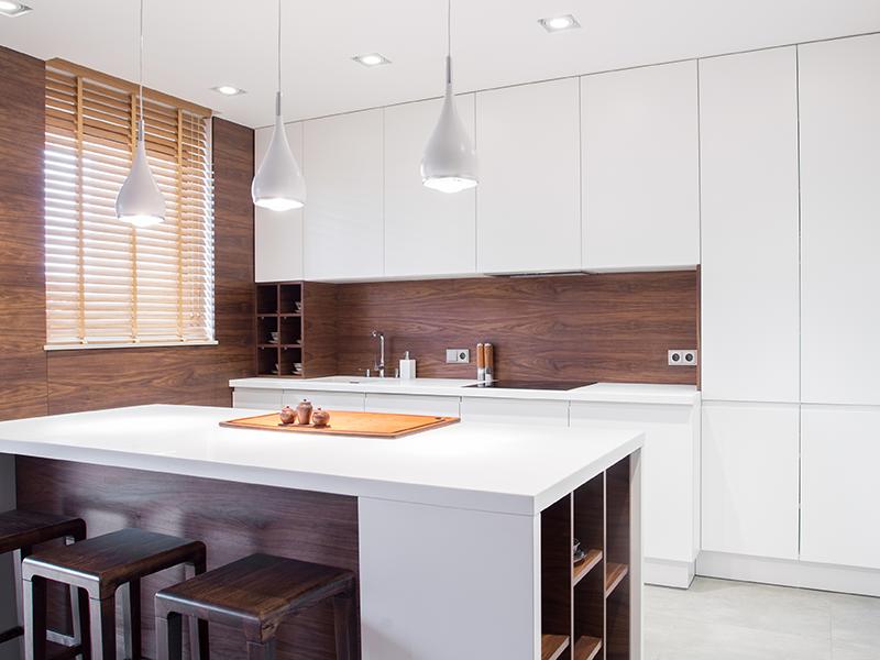 Reclaimed Wood Kitchen Backsplashes