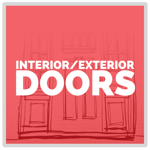 Interior and Exterior Doors