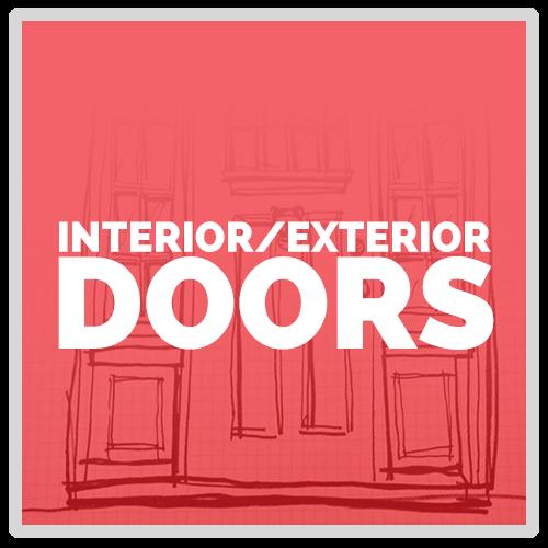 Interior and Exterior Doors