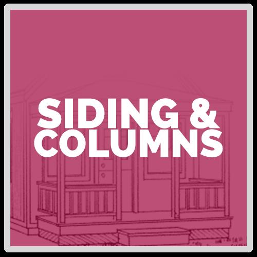Siding and Columns