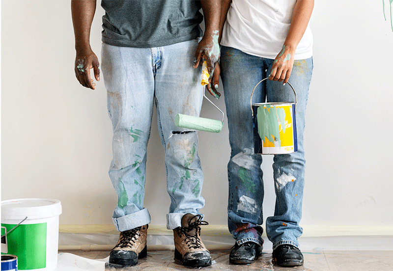 home renovations couple