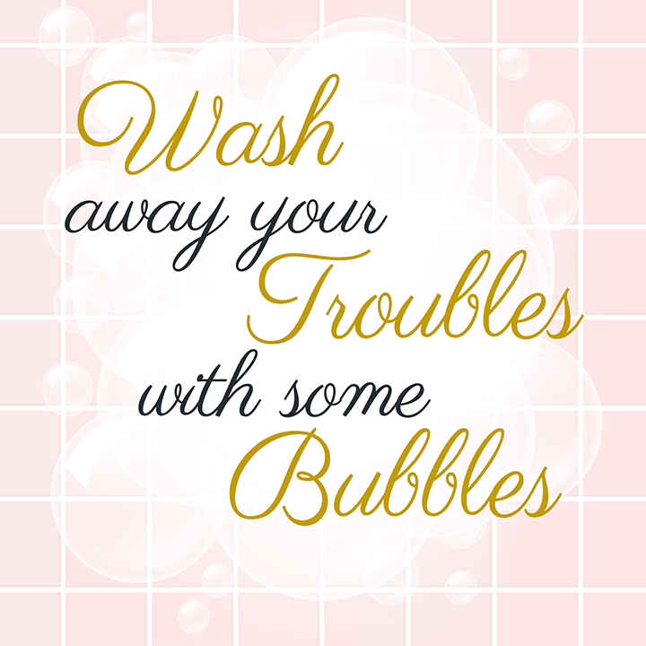 Wash Away Troubles Quote