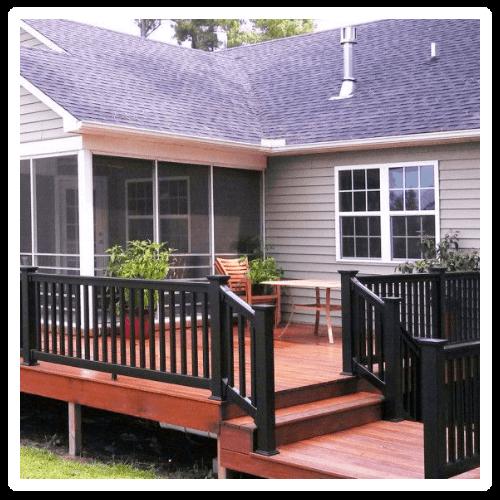 Friel Lumber Icon - Railing and Decks (no text)